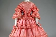 """Vintage Fashion: 1850-1860s / For replica outfits made to look like period clothing shown here please visit my Board """"Fashion: Film/Stage/TV/Etc."""""""