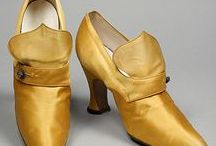 Vintage Fashion: Footwear / The fascinating evolution of shoe design from 1800 through the 1980s.