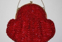 Vintage Fashion: Handbags / Vintage handbags, purses, reticules, chatelaines, etc., showcasing the various colors, designs, styles, and materials used 1800-1960s ... with a few exceptional newer examples sprinkled in.