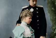 Royals/Riches/Residences / Photos of Royal Family Members and Examples of their Enormous Wealth.