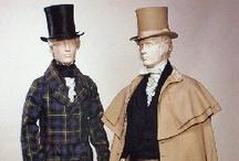 "Vintage Fashion: Men / 1800-1985 Men's Fashion. For men's 1700s fashions see my Board ""Vintage Fashion: 1700-1799""."
