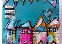 Art: Little Houses/Buildings