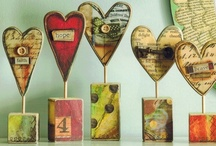 Art: Valentines/ ♥Hearts♥ /Love / by Barb Smith