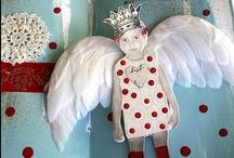 Art: Tiny Dolls / Dainty Dresses   / by Barb Smith