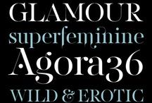 Typography / Typographic works that rock!