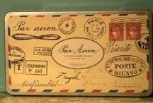 mail art / by Becky Crossett