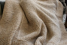 Knit: Blankets and for the Home / ~ Images and tutorials on this Pin-board are Owned and Copyrighted by their Respective Owners ~