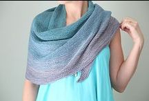 Knit: Shawls & Wraps / ~ Images and tutorials on this Pin-board are Owned and Copyrighted by their Respective Owners ~