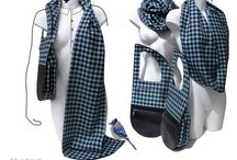 Hug-Bag scarf-bag / Scarf + Bag. Hug-Bag designs handbags for woman and man in an innovative way, that is combined with a scarf. Modern design, styled and safe bag.