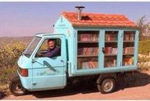 Libraries / Bookshelves / Etc. / LIBRARIES ● BOOKSHELVES ● BOOK STORES ● BOOKMOBILES ● BOOK QUOTES ● BOOK RELATED / by Barb Smith