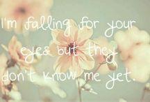 Lyrics & Quotes / by ♡ Anna Sykes♡