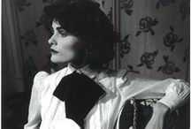 "CoCo Chanel --the Beginnings..Vintage Chanel / Coco  Chanel said & lived by her words ""a girl should be two things, classy & fabulous"" & ""the most courageous act is still to think for yourself. Aloud!"" / by Tailor And Stylist"