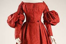 """Vintage Fashion: 1830-1840s / For replica outfits made to look like original period clothing shown here please visit my Board """"Fashion: Film/Stage/TV/Etc."""""""