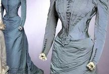 """Vintage Fashion: 1890s / For replica outfits made to look like period clothing shown here please visit my Board """"Fashion: Film/Stage/TV/Etc."""""""