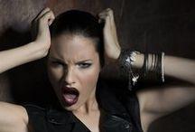 Colección Barrock'N'Roll TEN IMAGE / Presentación de la moda de maquillaje y cosmética otoño - invierno 2013
