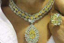 Jewelry: Yellow Diamonds / I love YELLOW DIAMONDS!