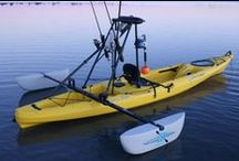 explore. waterways- kayak, canoe,row boat and gear / by Paul Kotajarvi