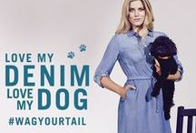 Love My Denim, Love My Dog / Denim & DOGS (it's as good as it sounds). Introducing girls' new best friends… - oasisstor.es/WagYourTail ‪#‎WagYourTail‬