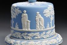 Pottery: Wedgwood / The Wedgwood story began in 1759 when Josiah Wedgwood, age 29, started as an independent potter in Staffordshire, England. He invented and produced three of Wedgwood's most famous ceramic bodies: Queen's Ware (1762), Black Basalt (1768), and Jasper (1774). Jasper, the most famous of Josiah's inventions, is an unglazed vitreous fine stoneware made in blue, green, lilac, yellow, black, or white; sometimes one piece combined three or more of these colors.
