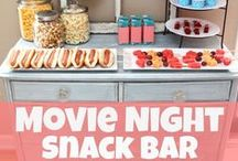 Movie & Dinner / Join us for a family friendly movie and dinner! Call the center for schedule and details!