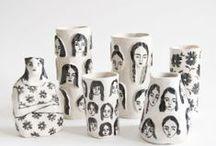 kitchen cabinet / Cool ceramics.