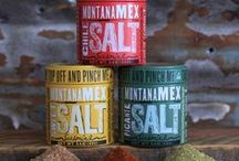 Seasoning Super Heroes / Photos of our salt seasonings out and about in Montana and elsewhere...