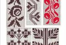 Romanian traditional motifs / romanian traditional stitches,applied to traditional folk costumes