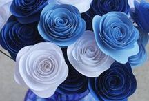 Paper Flowers / http://shop.vibesandscribes.ie/craft/card-making/paper-and-card.html