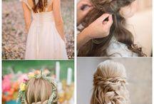 Cabelos / Como fazer penteados. Novas ideias de cor de cabelo, entre outros....