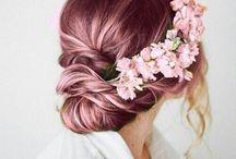 Hair pastel inspired