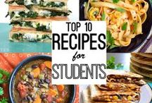 Get Cooking! / Who doesn't love food? Here are some great eats that are perfect for a student budget.