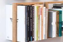 Étagères et bibliothèques / L'endroit idéal où ranger nos livres
