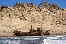 Skeleton Coast, Namibia / A truly exciting landscape worthy of an extended visit.  See why on this board:)