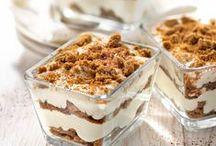 Desserts / Gâteaux, panne cota, crèmes....