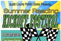 BCPL Programs / Special and ongoing programs @ BCPL for all ages. Click pin for details and/or registration. / by Bullitt County Public Library