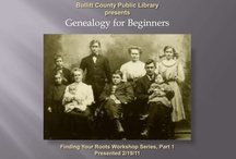 Genealogy & Local History / by Bullitt County Public Library