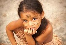Kids ~Native Americans~ / Kids are so amazing and powerful because they're so authentic,without boundaries.They're the same all over the world, the same smile,the same things for which they get sad ,they all forgive so easily.All are beautiful souls.