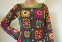 Crochet - Clothing / Gehaakte kleding / by Diana D.