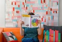 Patchwork & Quilting / Have a look at many different and inspirational examples of patchwork and quilting projects.
