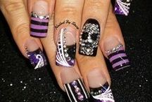 Grown 'N Sexy Nails / Various Acrylic Nails and Natural Nails with different lengths, styles, designs and colors!  Includes Styles and designs for all tastes!!