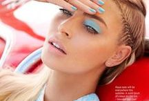 Blue&White Make-up