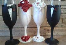 Kicsiny Csodák Műhelye Weddings Esküvő / Legyen szó születésnapról, esküvőről, vagy bármilyen  nevezetes alkalomról, az általam készített meglepetésnek biztos sikere lesz! Nem csak a képeken látható motívumokat tudom elkészíteni,hanem az ön elképzeléseit is megvalósítom. http://kicsinycsodakmuhelye..hu/ https://www.facebook.com/EgyediEvoeszkozok