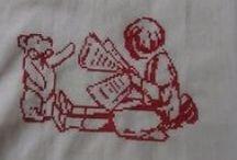 silhouette cross stitch