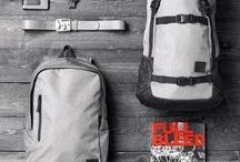 Bags & Backpacks / Carefully selected full-grain leather bags and backpacks manufactured by premium fabrics that can take the abuse coming with living in the fast lane.