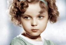 "MY SHIRLEY TEMPLE  4/23/1928-2/10/2014 / Child actress during depression and World War era of the ""Silver Screen"". Awarded a child Oscar. Was appointed as a U.N.Ambassador by President Nixon. Cause of death: Natural causes. / by bob spear"