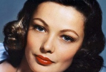 "MY GENE T.  11/19/1920-11/6/1991 / aka Gene Eliza Tierney, ""The Get Girl"".  Cause of death: Emphysema / by bob spear"
