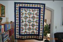 Mine tæpper og andet patchwork / gaver til børnebørn og til eget brug
