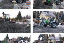 Lännen heavy-duty, multifunction backhoe loaders / Lännen is a heavy-duty, multifunction backhoe loader with all-terrain mobility