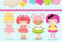 INSPIRATION : fairies / princess / mermaids / dolls / by Marie Faksova