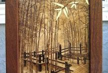 craft:woodburning ideas / woodburning / by jane moucha